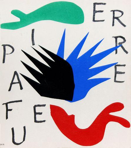 Henri Matisse - Untitled from Pierre a Feu