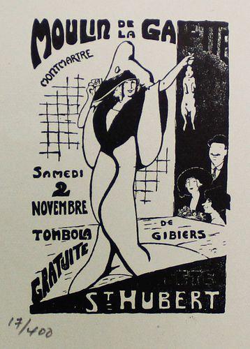 Guy Dollian (After) - Affiche pour le Moulin de la