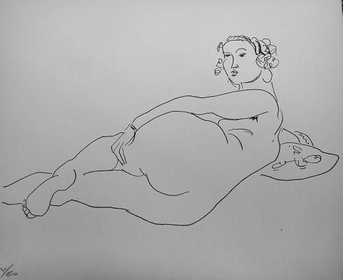 "Henri Matisse - Dessin I ""XX Siecle No .4"""