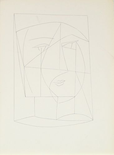 """Pablo Picasso - Untitled XX from """"Carmen"""""""