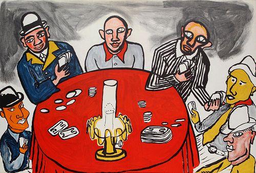Alexander Calder - Jouers de cartes I