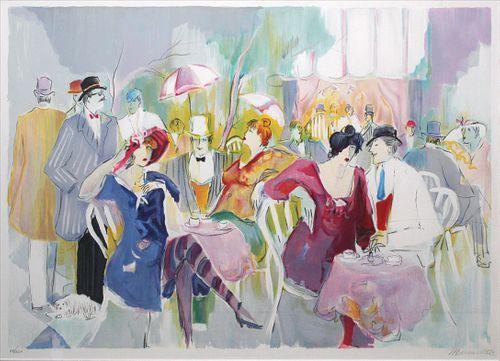 Isaac Maimon - Parisian Cafe Scene