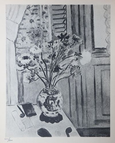 """Henri Matisse - Untitled I from""""XX Siecle No .4"""""""