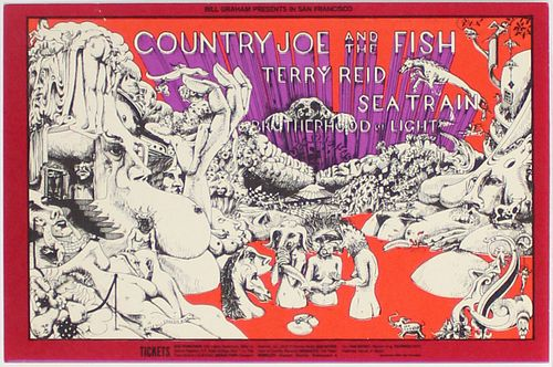Lee Conklin - Country Joe and the Fish