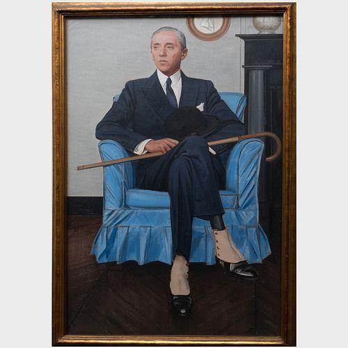 Bernard Boutet de Monvel (1881-1949): Portrait of William Thaw III