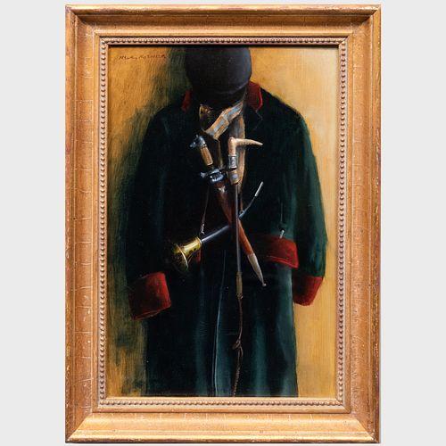 Henry Koehler (1927-2018): Stag Hunter's Kit, Hanging