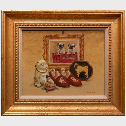 Henry Koehler (1927-2018): Assorted Pugs; and A Gathering of Pugs