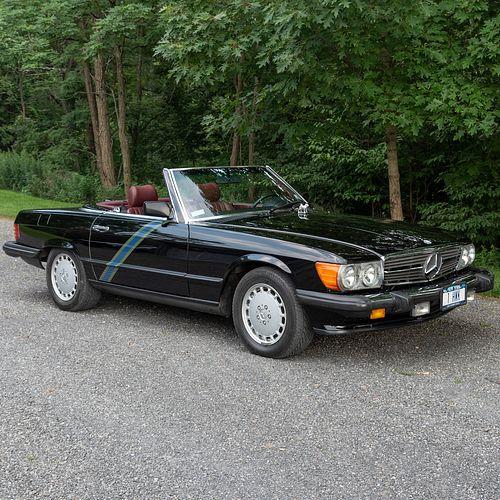 1986 Mercedes-Benz 560SL Hardtop Convertible