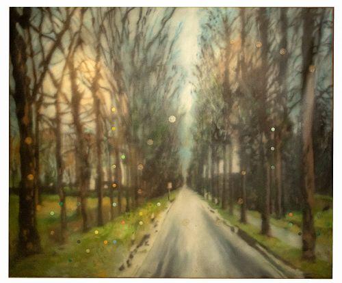 Raul Cordero (Cuban, b.1971) 'Optional Title Series' Oil on Canvas