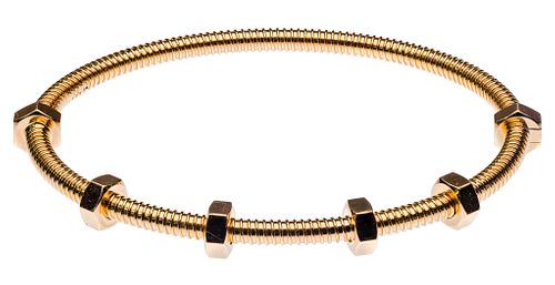 Cartier 18k Rose Gold 'Ecrou de Cartier' Bracelet