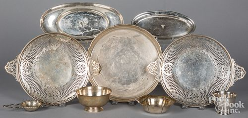 Miscellaneous sterling silver tablewares
