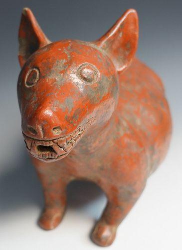 Pre-Columbian Colima Dog
