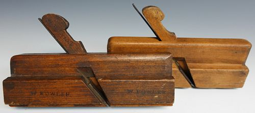 Three Antique molding Planes