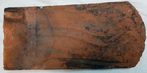 Oley Valley Redware Roof Tile