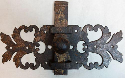 Large Iron Door Latch