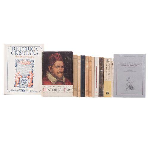 Libros de Fondo de Cultura Económica.  Títulos:  -Toussaint, Manuel. Tasco. Guía de Emociones. El Amparo Colonial. Pzs: 13.