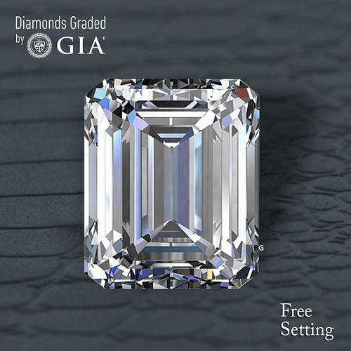 8.00 ct, D/FL, TYPE IIa Emerald cut GIA Graded Diamond. Appraised Value: $1,920,000