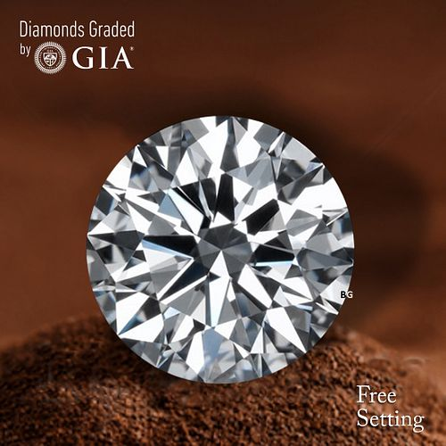 5.30 ct, D/IF, TYPE IIa Round cut GIA Graded Diamond. Appraised Value: $1,764,900