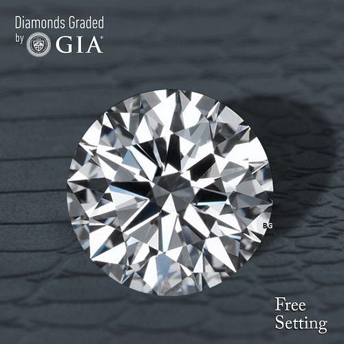 6.02 ct, D/FL, TYPE IIa Round cut GIA Graded Diamond. Appraised Value: $2,004,600