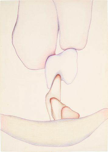 "Huguette Caland, ""Untitled"", 1984"