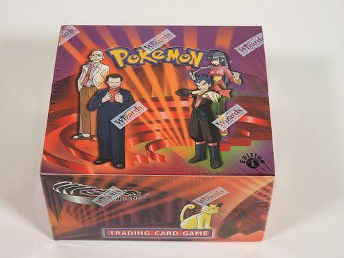 Pokemon Gym Challenge 1st Ed. Sealed Booster Box