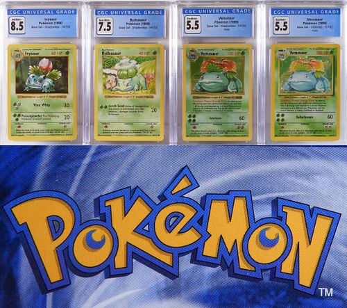 1999 Pokemon Base Shadowless Venusaur Collection