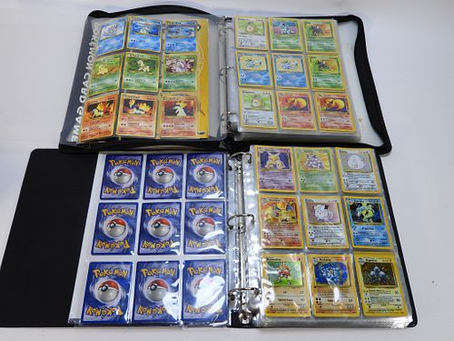 250+ Pokemon Trading Card Childhood Collection