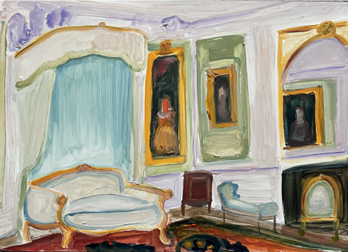 "Genieve Figgis, ""Green room"", 2021"
