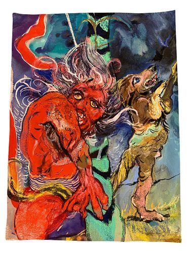 """Natalie Frank, """"Monster"""", 2021"""