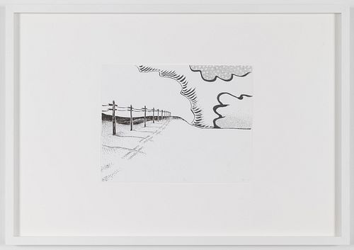 "Seth Price, ""Calendar Study: Landscape"", 2004"
