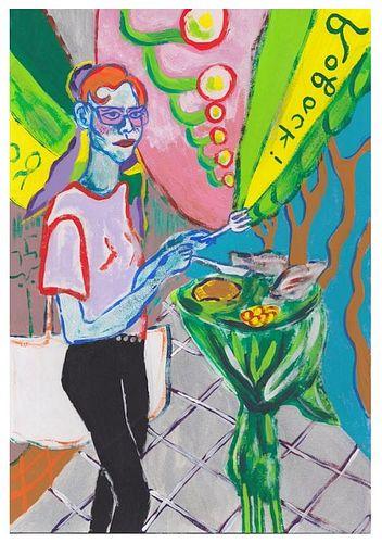 """Constance Tenvik,  """"Standing Lunch In Charlottenburg"""", 2020"""