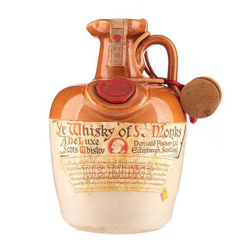 Ye Monks. De Luxe. Scotch Whisky.