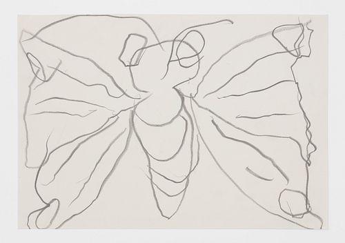 """Joan Jonas, """"Shape Scent Feel Butterfly Performance Drawing"""", 2008"""