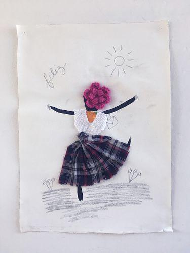 """Fernanda Laguna, """"Feliz"""", 2020"""