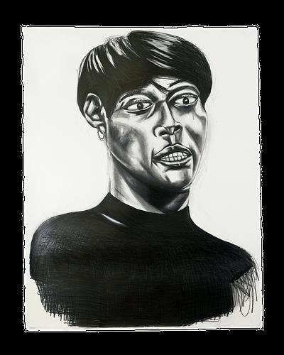 "Frederick Hayes, ""Untitled (Portrait #6 Mount Vernon, NY 20/21)"", 2021"