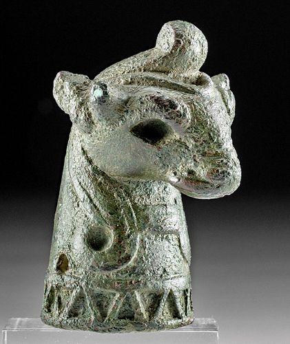 Published Urartian Bronze Bull Protome