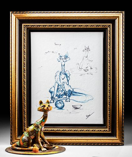 """Nano Lopez """"Lucy"""" Sculpture & Giclee"""
