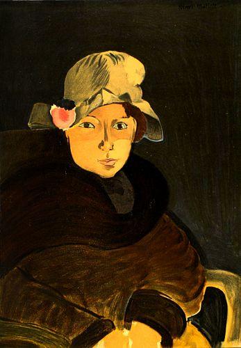 Henri Matisse (After) - Brown Eyes