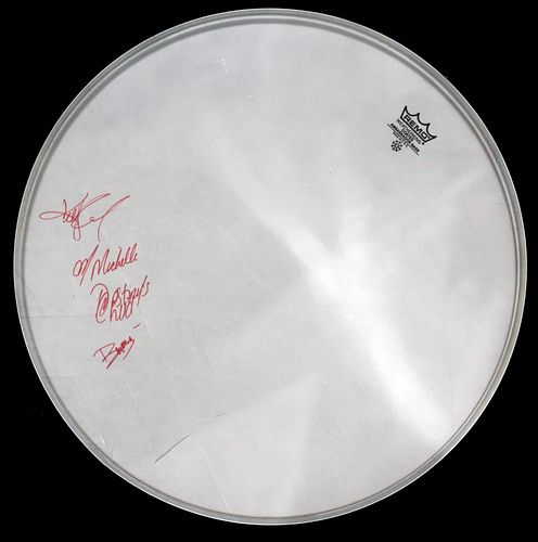 Beyonce and Destiny's Child - Signed Drum Head