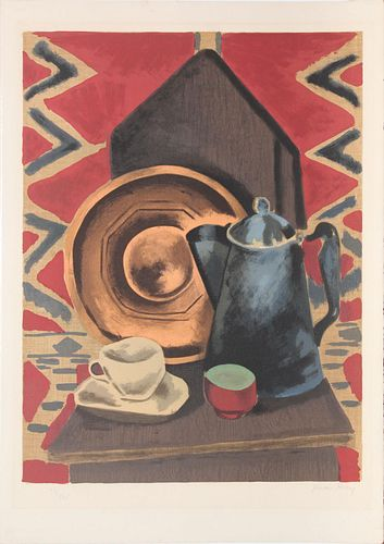 Man Ray - Nature Morte (Still Life on Chair)