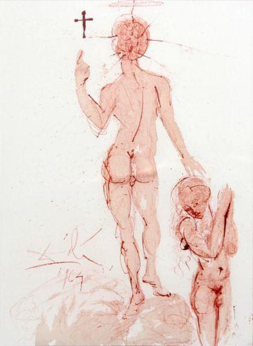 Salvador Dali - Asperges Me Hyssopo et Mundabor