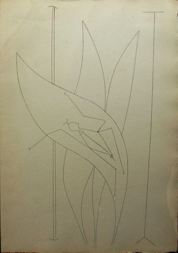Pablo Picasso - Untitled (8.7.59)
