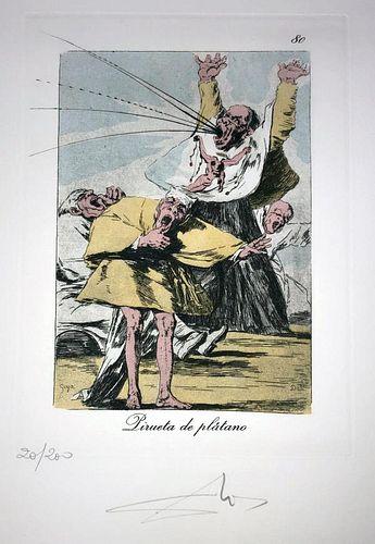 Salvador Dali - Pirueta de platano, #80