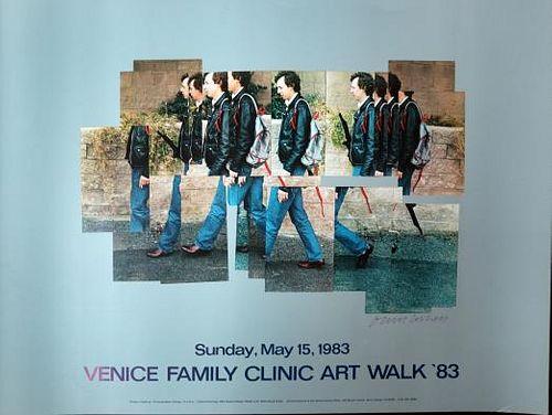 David Hockeny - Venice Walk 1983