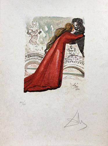 Salvador Dali - Pilade aimait Hermione