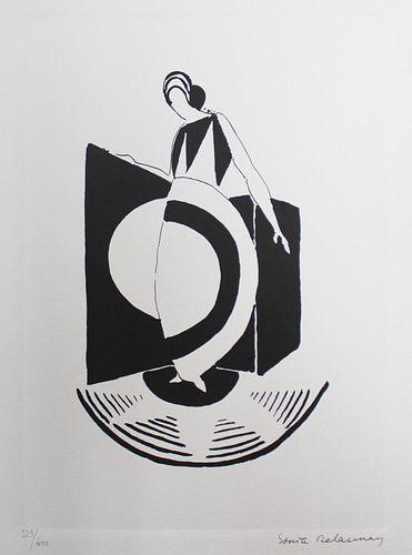 Sonia Delaunay - Composition a la robe-disque