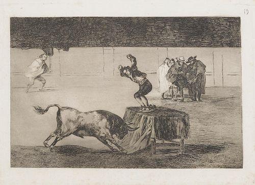Francisco Goya (After) - La Tauromaquia
