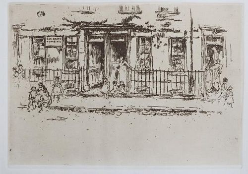James McNeill Whistler (After) - Justice walk (Chelsea)