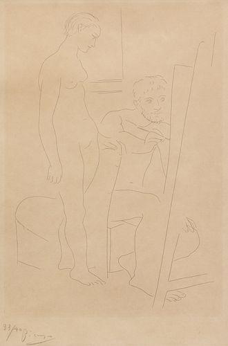 Pablo Picasso - Le Modele Nu
