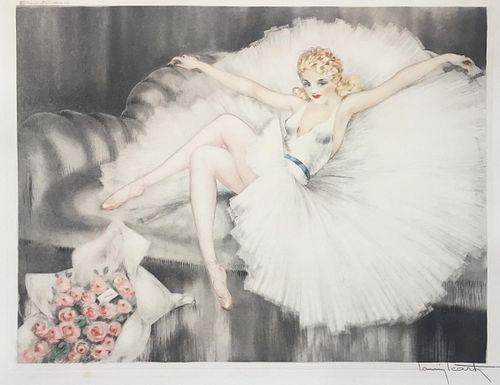 Louis Icart - Ballerina